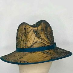 The Lace Fedora - Hat by Philip Wright at Walter Wright Hats