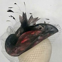 The Regency Tricorn Dante - Hat by Philip Wright at Walter Wright Hats