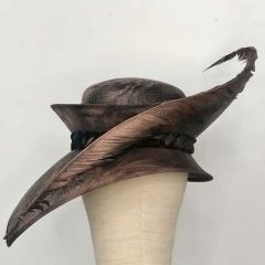 The Swan - Hat by Philip Wright at Walter Wright Hats