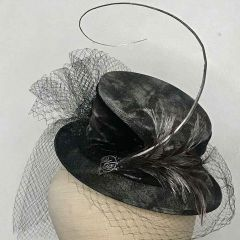 Victorian Half Topper - Hat by Philip Wright at Walter Wright Hats