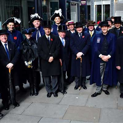 Philip Wright at the Lord Mayors Show