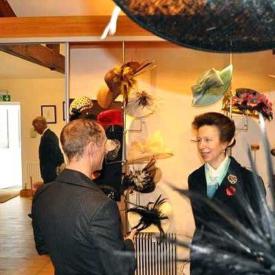 Princess Anne visits Walter Wright Factory