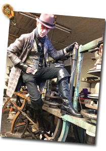 Hatter at factory